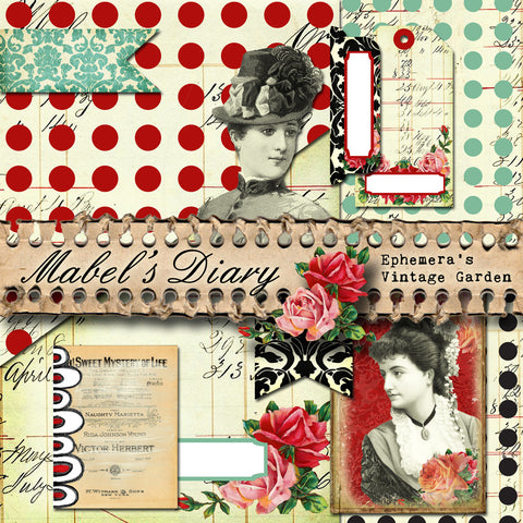 Mabel's Diary - Printable Planner Kit
