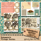 Ephemeral Garden - Printable Journal Kit