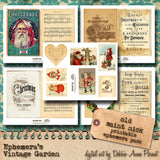 Old Saint Nick - Printable Journal Kit