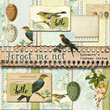 Forget Me Not - Printable Journal Kit