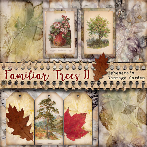 Familiar Trees II - Printable Journal Kit