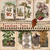 Familiar Trees I - Printable Journal Kit