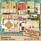 Follow Your Bliss - Printable Journal Kit