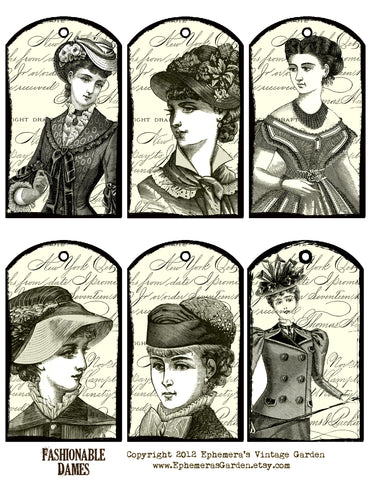 Fashionable Dames