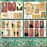 Gentlemen And Scholars - Printable Journal Kit