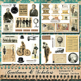 Gentlemen And Scholars II - Printable Journal Kit