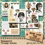 Miss Lady Fay II - Printable Journal Kit