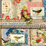 New Beginnings - Printable Journal Kit