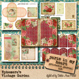 Paris In My Heart - Printable Journal Kit