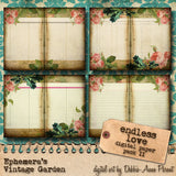 Endless Love - Printable Journal Kit