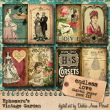 Endless Love II - Printable Journal Add-On Kit