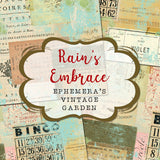 Rain's Embrace - Collage Backgrounds