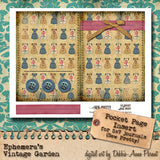 Sew Pretty II - Printable Journal Kit