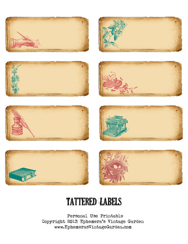 Tattered Labels