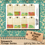 A Happy Place II - Printable Art Journal Kit