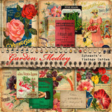 Garden Medley - Printable Journal Kit