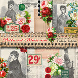 Petticoat Blossoms - Printable Journal Kit