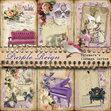Purple Reign - Printable Journal Kit
