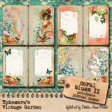 Coral Blues II - Printable Journal Kit