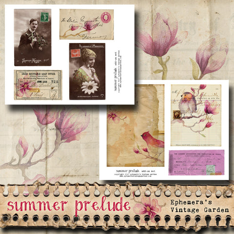 Summer Prelude - Ephemera Add-On Kit