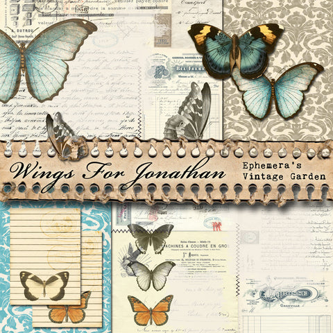 Wings For Jonathan - Printable Journal Kit