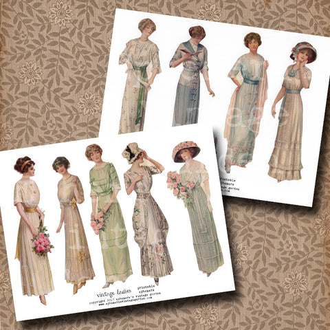 Paper Dolls - Spring Fashions