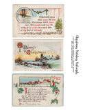 Christmas Holiday Postcards