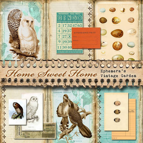 Home Sweet Home - Printable Journal Kit