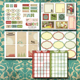 Days Of December - Printable Journal AND Planner Kit