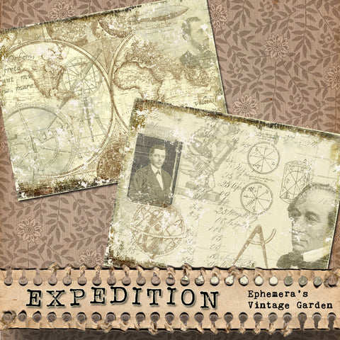 Expedition - Printable Journal Pages