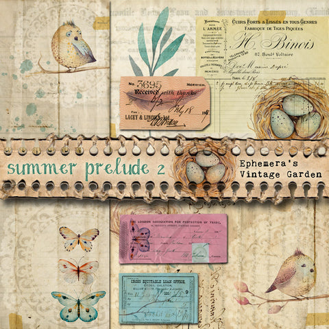 Summer Prelude II - Printable Journal Kit