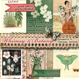 Whimsy & Botany - Printable Journal Kit AND Blank Planner Inserts
