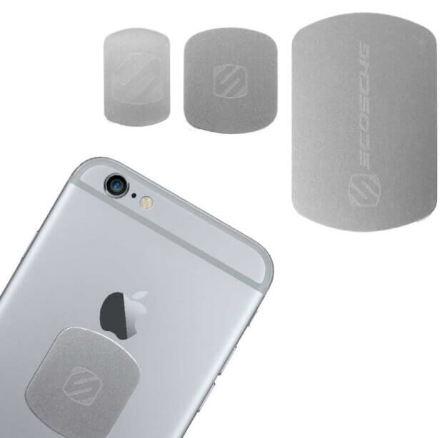 Scosche MAGRKI MagicPlate™ Colors  for iPhone and Other Devices - space grey