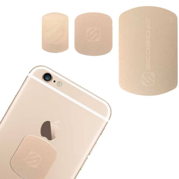 Scosche MAGRKI MagicPlate™ Colors  for iPhone and Other Devices - gold