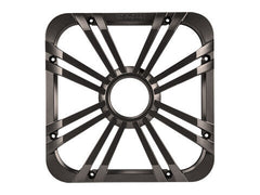 "Kicker 11L712GLC - 12"" Square Charcoal LED Grille - 12-Inch (30cm) Square Subwoofer Grille for 44L7S12, LED, Charcoal."