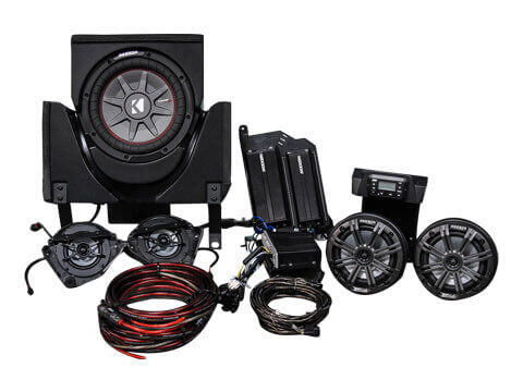 Kicker-45CX35-5-Speaker-Can-Am-Maverick-X3-System