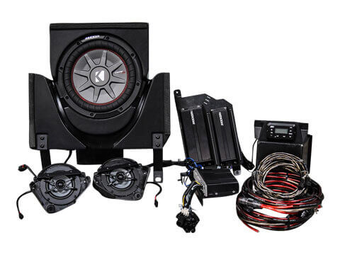 Kicker-45CX33-3-Speaker-Can-Am-Maverick-X3-System