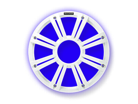 "Kicker-45KMG12W-KM/KMF-12""-White-LED-Grille"