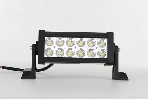 "7"" LED BAR 18 Watt Double Row"