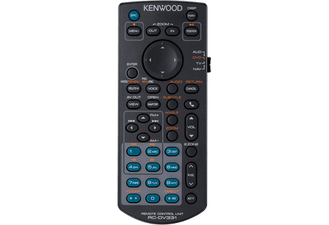 Kenwood KNA-RCDV331 - IR remote controller for multimedia monitor