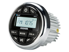 Kicker KMC2 - Kicker KMC2 Media Center - KMC2 Multi-Media Gauge-Style Marine Receiver w/Bluetooth