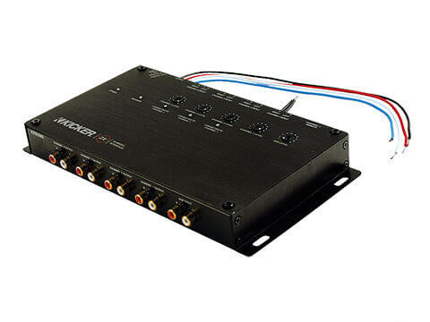Kicker 10ZXSUM8 - ZXSUM8™ Summing Interface -  ZXSUM8 Eight-Channel Summing Interface w/ Auxiliary Input