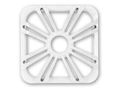 "Kicker 11L712GLW - 12"" Square White LED Grille - 12-Inch (30cm) Square Subwoofer Grille for 44L7S12, LED, White"