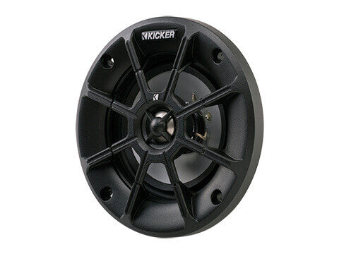 "Kicker 40PS44 - PS 4"" 4Ω Coaxial - PS4 4-Inch (100mm) PowerSports Weather-Proof Coaxial Speakers, 4-Ohm"