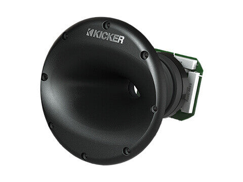 Kicker 41KMS674C - KMS67 4Ω Tower System - KMS67 6.75-Inch (165mm) High-Efficiency Marine Component System, Charcoal, 4-Ohm