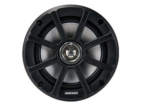 "Kicker 42PSC654 - PS 6.5"" 4Ω Coaxial - PSC65 6.5-Inch (160mm) PowerSports Weather-Proof Coaxial Speakers, 4-Ohm"