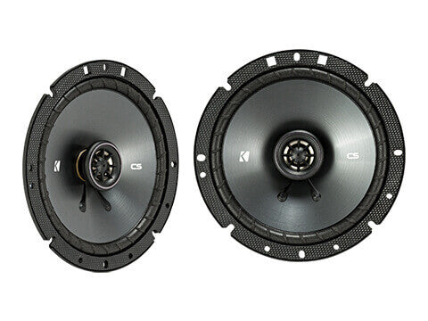 Kicker 43CSC674 - CS Series CSC67 - CSC67 6.75-Inch (165mm) Coaxial Speakers, 4-Ohm