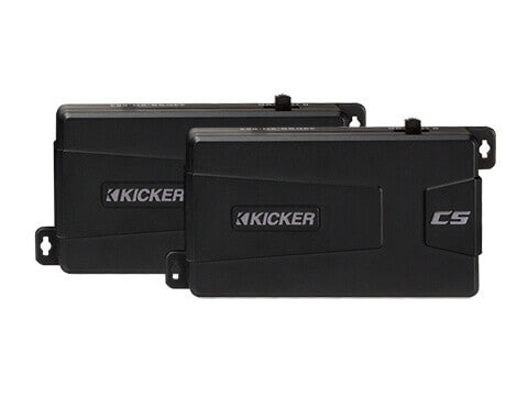 Kicker 43CSS684 - CS Series CSS68 - CSS68 6x8-Inch (160x200mm) Component System w/ .75-Inch (20mm) Tweeters, 4-Ohm