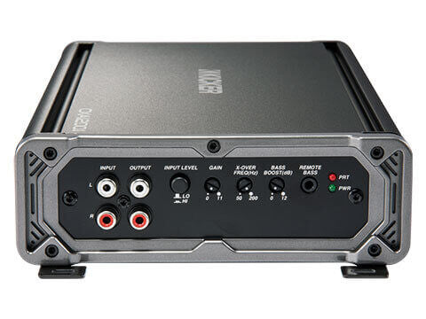 Kicker 43CXA12001 - CX1200.1 Mono Amplifier -  CXA1200.1 1200-Watt Mono Class D Subwoofer Amplifier
