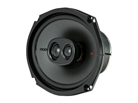 "Kicker 44KSC69304 - KS Series 6x9"" 3-Way Coax - KSC6930 6x9-Inch (160x230mm) 3-way Speakers w/ 1-Inch (25mm) and .75-Inch (20mm) tweeters, 4-Ohm"